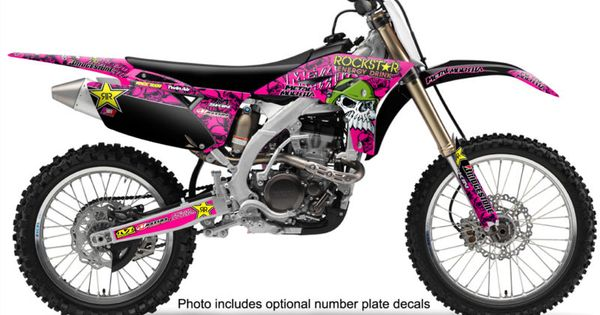 Pink Plastics For Dirt Bike