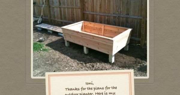 Build Your Own Raised Planter