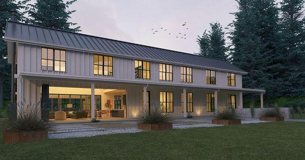 Modern Farmhouse Style Plan Modern Design Home Front