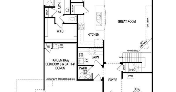 Pulte Homes Sapphire Floor Plan Via Www.nmhometeam.com