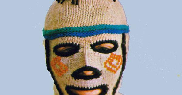 Ski Mask Knitting Pattern B