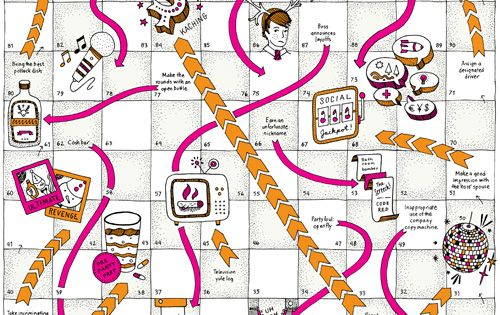 Snakes And Ladders Print Out