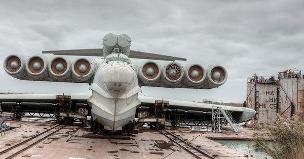Junk Yard Caspian Sea Monster