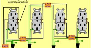 wiring diagram receptacles in series | wiring diagram for