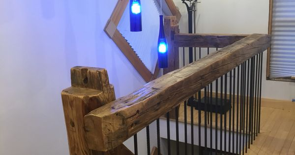 Wood Banisters And Handrails