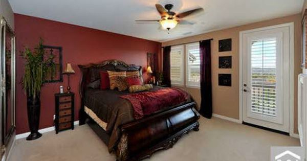 Gold And Bedroom Burgundy Decorating Chocolate Brown