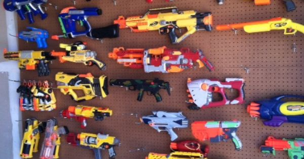 Plans For The Boy S Nerf Collection Kid Stuff