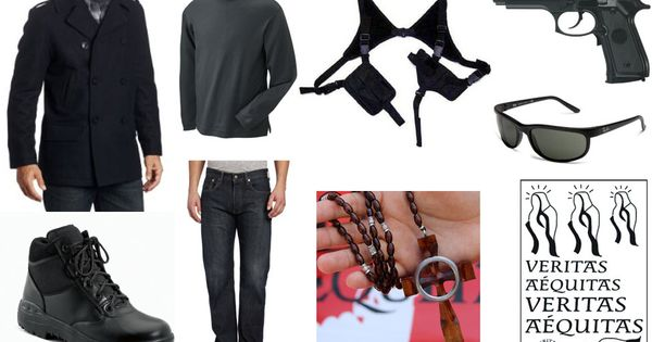 Man Dressed Katniss