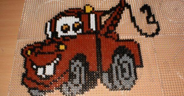 Patterns Perler Garfield Bead