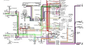 55 Chevy Color Wiring Diagram | 1955 Chevrolet | Pinterest