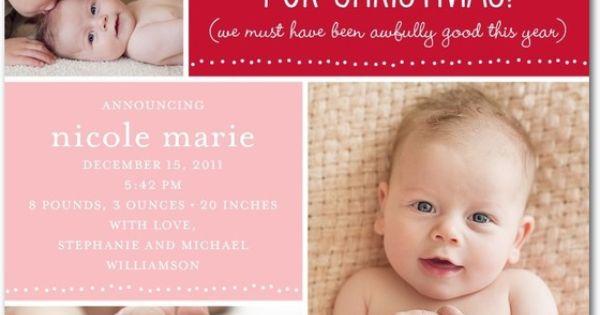 Winter Birth Announcements Staff Picks Tiny Prints Blog