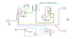 diagram of wiring on B Farmall | Later Wiring Diagram 6