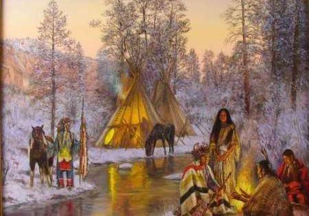 Wackermann Hubert American Native Paintings