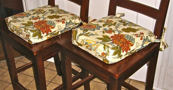 Kitchen Chair Cushions Pattern Sewing Projects