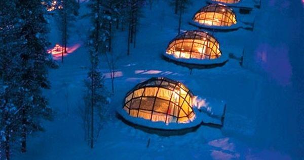 Finland Sleep Under Northern Lights