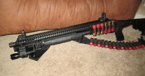 Folding Remington 1100 Stock