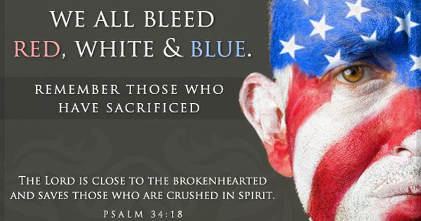 And Red Blue I Bleed White