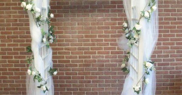 Indoor Wedding Arch Decorations