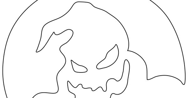 dog from nightmare before christmas pumpkin stencil