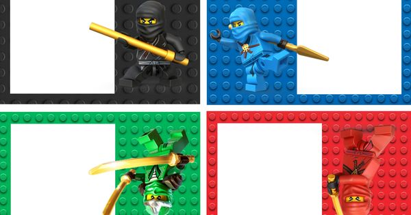 Printable Ninjago Invitations Free