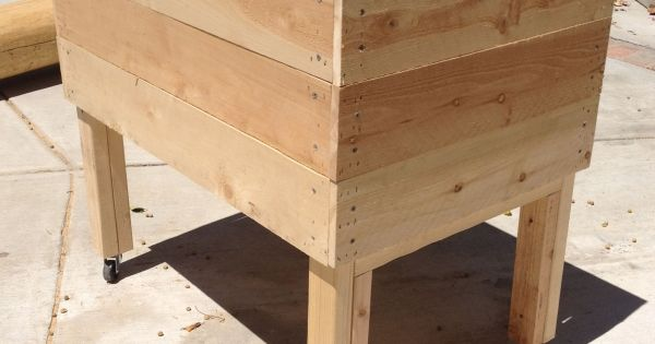 Build Your Own Raised Garden Planter