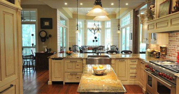 Small Country Style Kitchen Designs