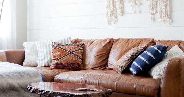 25 Brown Sofas That Dont Make Us Feel Sad Us Boho And