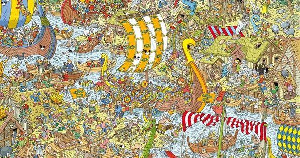 Hardest Wheres Waldo Printable Worksheets