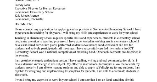Recommendation Letter Sample For Teacher Aide