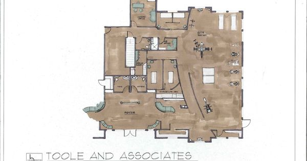 Physical Therapy Floor Plan