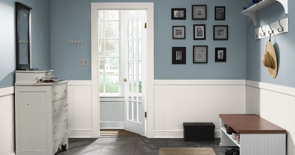 Blue Bathroom Paint Color Behr