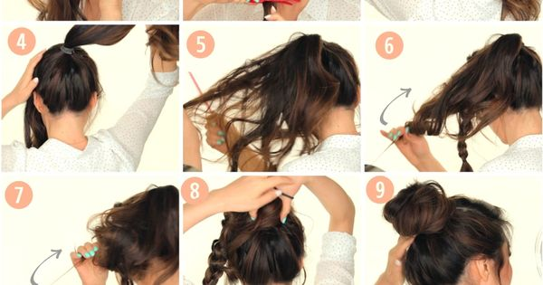 Cute 5 Minute Second Day Hairstyle Tutorial Learn How To
