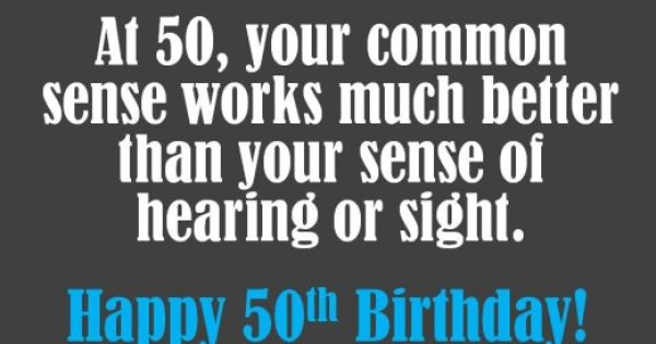 What To Write On A 50th Birthday Card Wishes Sayings