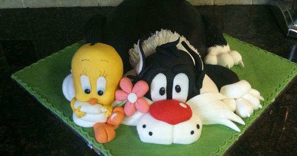 Bird Cupcake Toppers Tweety