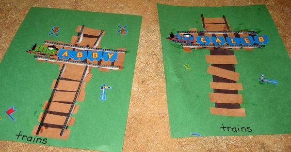 Gingerbread Train Pattern