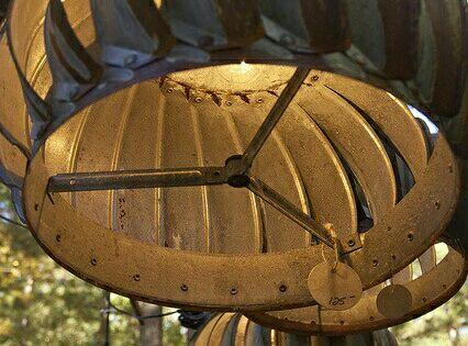 Attic Turbine Vent Made Into An Outdoor Lite Gardening