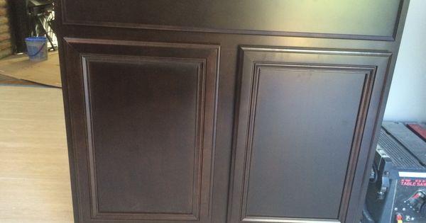 Glen Arbor Style Cabinets In Kona Stain Maple Wood