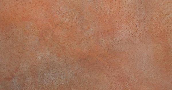 Painting A Faux Terra Cotta Floor On Concrete Colors