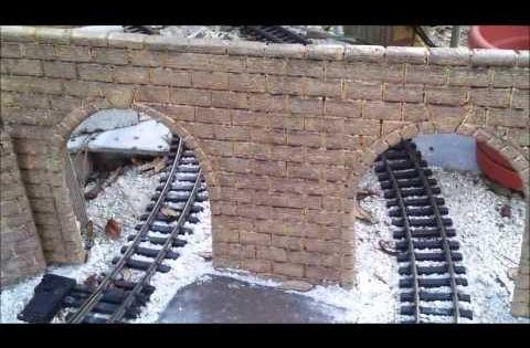 How Build Basic Garden Railroad Part 2