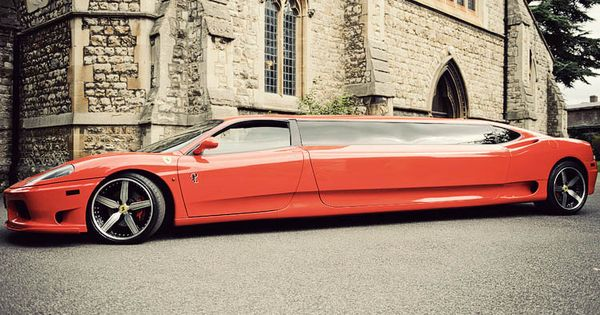 Stretch Limo Lambo Or A Ferrari OR We Can Get A Saleen