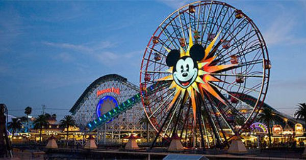 Mickeys Fun Wheel Is Part Of Paradise Pier At Disney