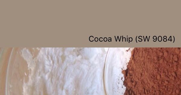 Sherwin Williams Cocoa Whip SW 9084 SwatchDeck App Sherwin Williams Paint Colors Pinterest
