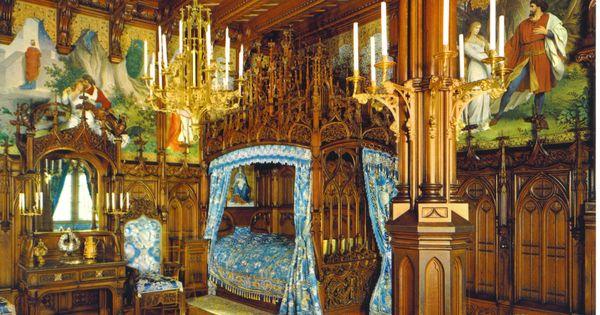 King Ludwigs Castle Neuschwanstein Royal Bedroom