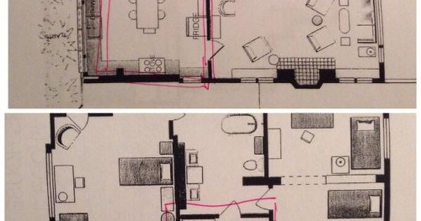 "Floor Plan For The House From ""The Fosters"""