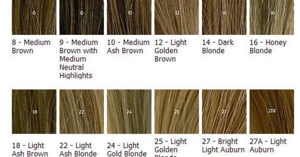 Hair Color Blonde Honey Chart