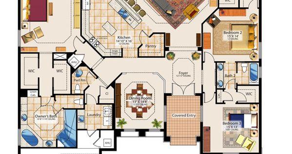 Sims Mansion Schematics