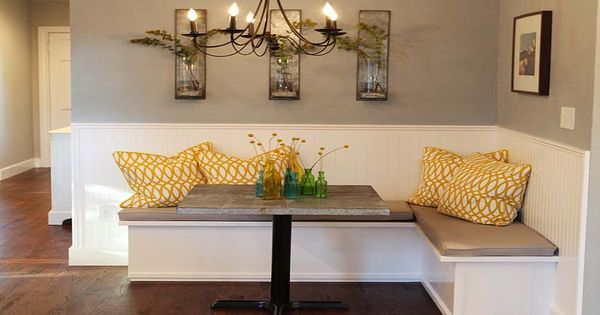Dining Room Banquette By Magnolia Homes