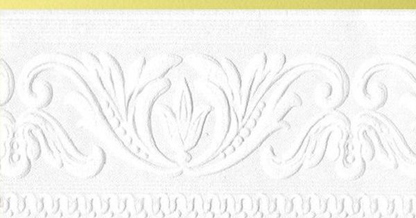 Classic Scroll Paintable Border