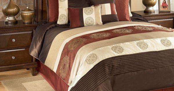 Oversized King Size Bedding 126x120 Milano Russett King
