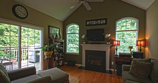 Cathedral Ceiling Paint Idea Home Ideas Pinterest Cathedral Ceilings And Paint Ideas